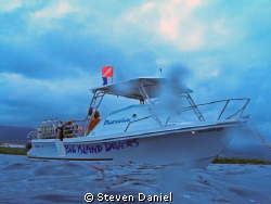 Big Island Divers Boat on Home Depot Reef, Kona Big Islan... by Steven Daniel 